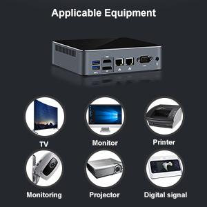 Applicable for TV/Monitor/Printer/Monitoring/Projector/Digital signal