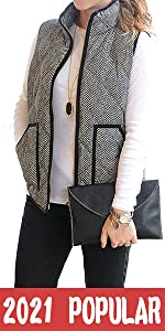 Fall Quilted Puffer Vest