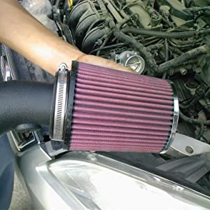 Universal air filter red
