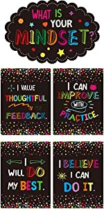 13 Growth Mindset Posters Bulletin Board