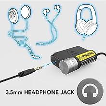 compatibility helmet speakers earbuds headphones with 3.5mm headphone plug