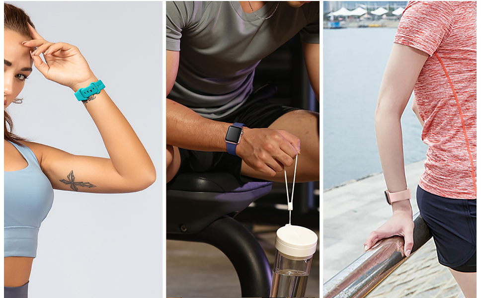 These sport bands for Apple Watch are suitable for both women and men
