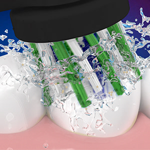 100% meer verwijdering van tandplak