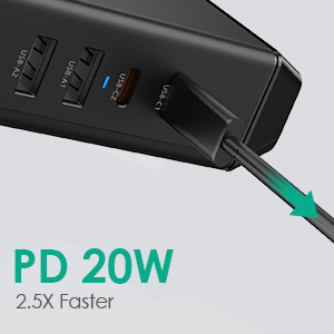 Fast Charging Power Strip