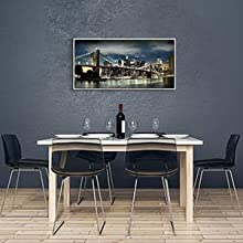 Skylines Reflections in New York Artwork for Living Rooms