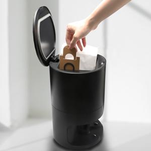 self-empty dustbin