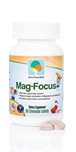 Magnesium Focus Supplement for Kids