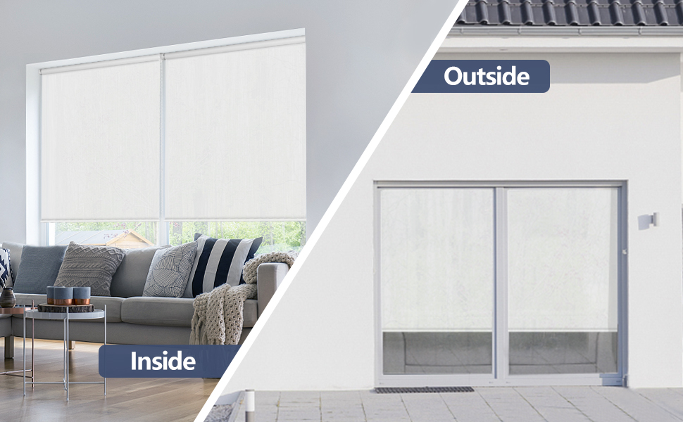 solar screen roller shades and blinds
