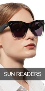 OCCI CHIARI Reader Sunglasses 1.0 for Women Oversized Reading Sunglasses UV Protection Outdoor