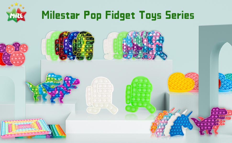 fidget toys push pop fidget toy
