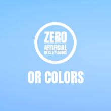 Zero Artificial colors