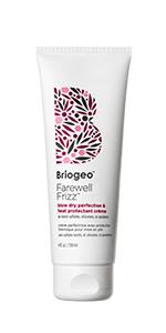 heat protectant for hair blow dry cream
