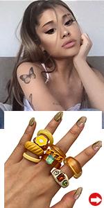 Y2K Stackable    Rings