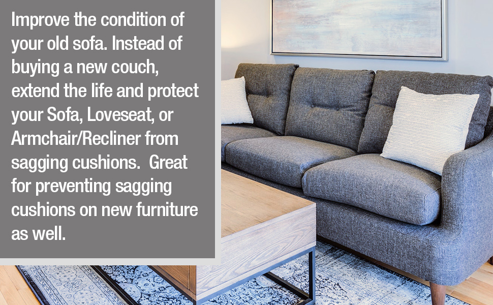 Improve the condition of your couch, sofa, and recliner improve the condition.