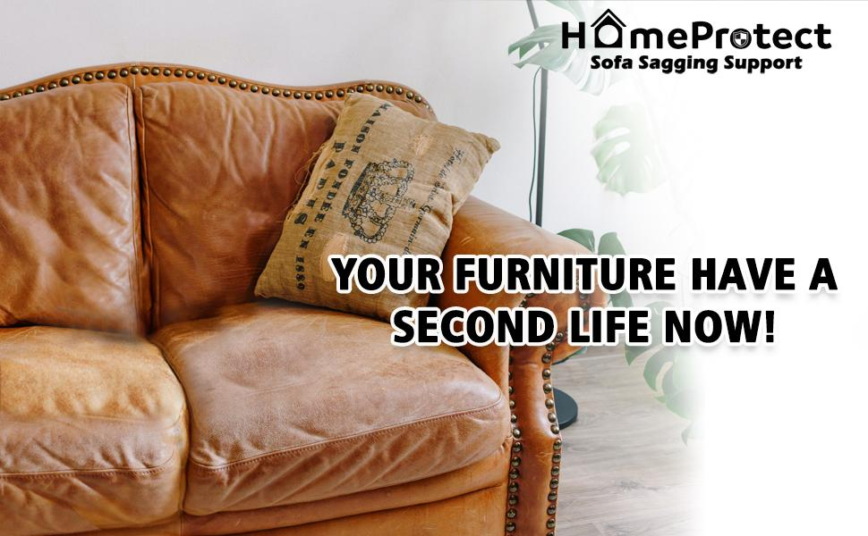 HomeProtect Sofa Cushion Support for Sagging Seat