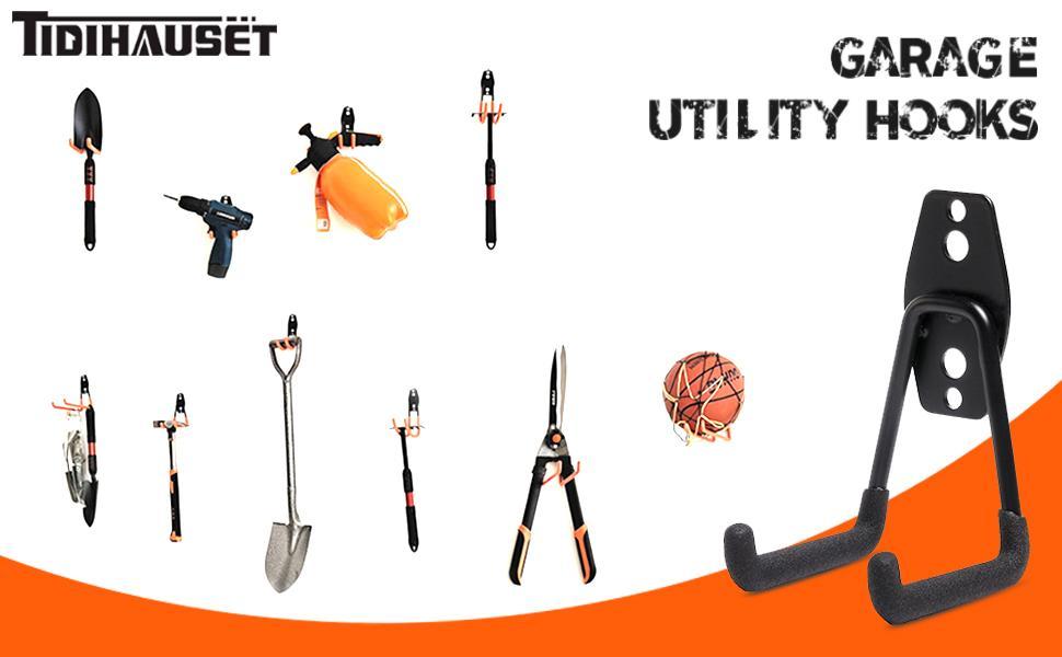 Professional garage hooks garage space organization tools organization space saving 10 set 12 set 14