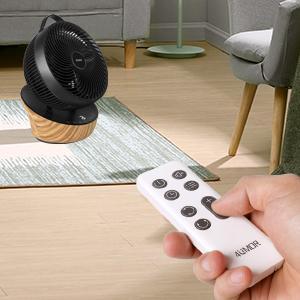 Ventilateur avec télécommande vous permet de contrôler à distance ce ventilo