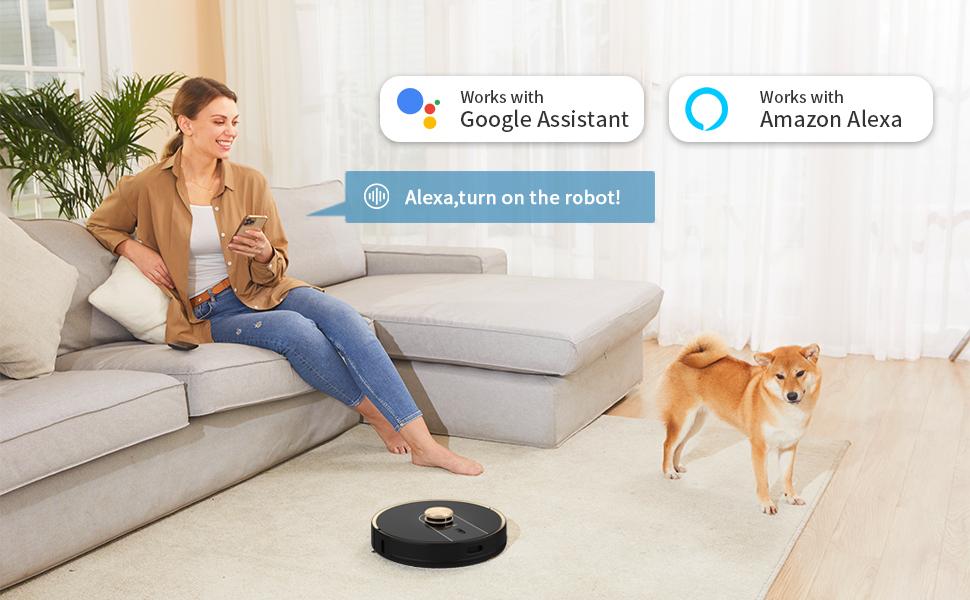 Alexa, turn on the robot