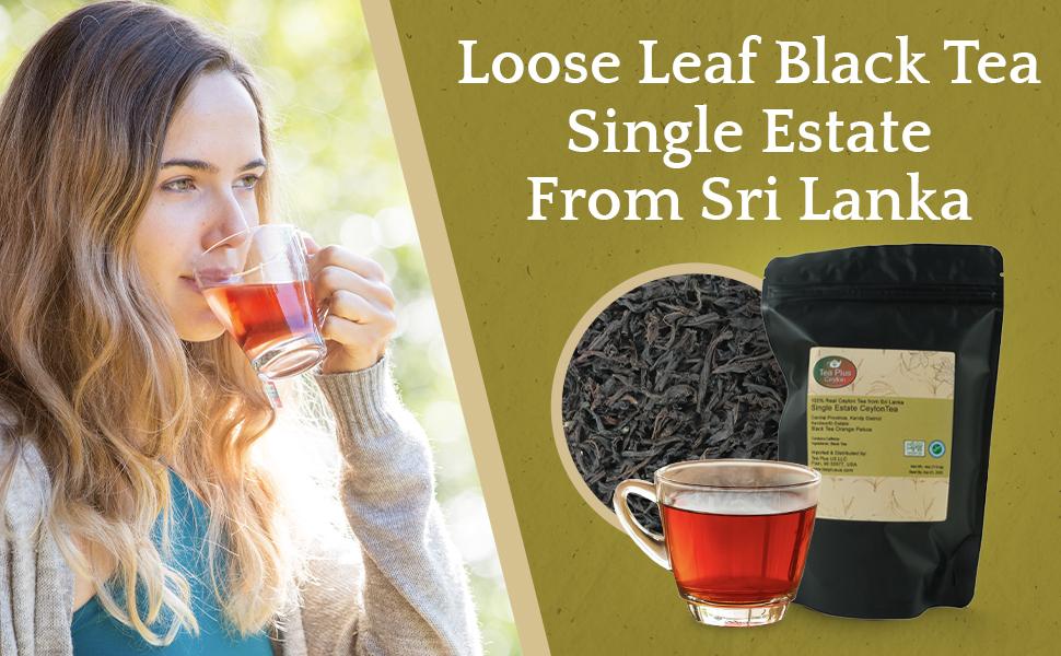 ceylon black tea leaf sri lanka black tea kenilworth estate ceylon tea black tea loose leaf