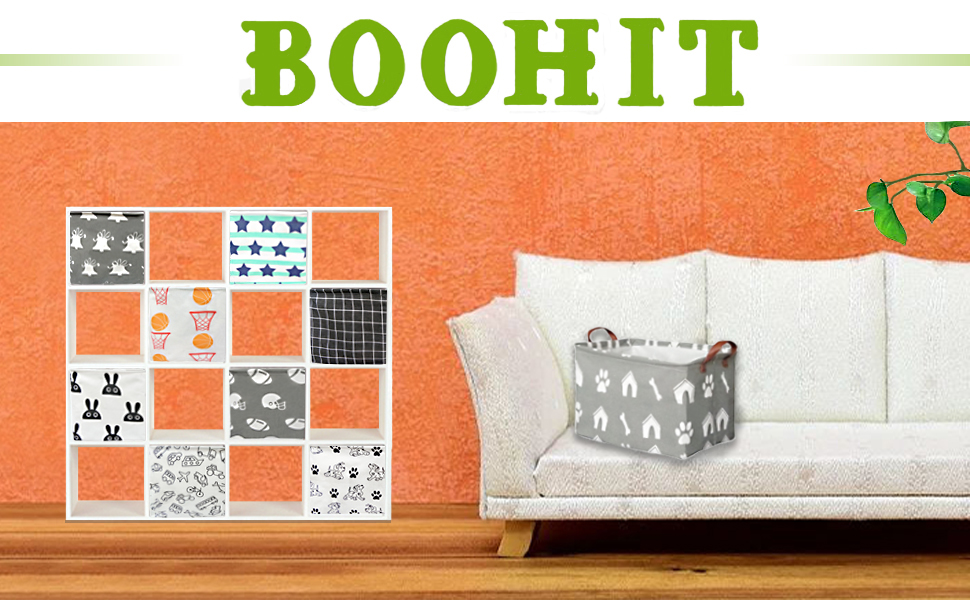 BOOHIT  Toy Basket