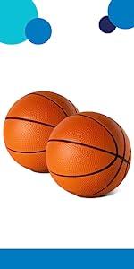 5amp;#34; foam basketballs