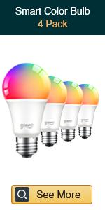 Gosund smart multicolor bulb 4 pack