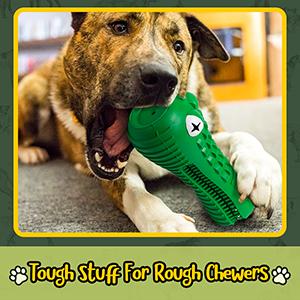 Quality Lyfe Interactive Dog Chew Toy Tough Dog Toy