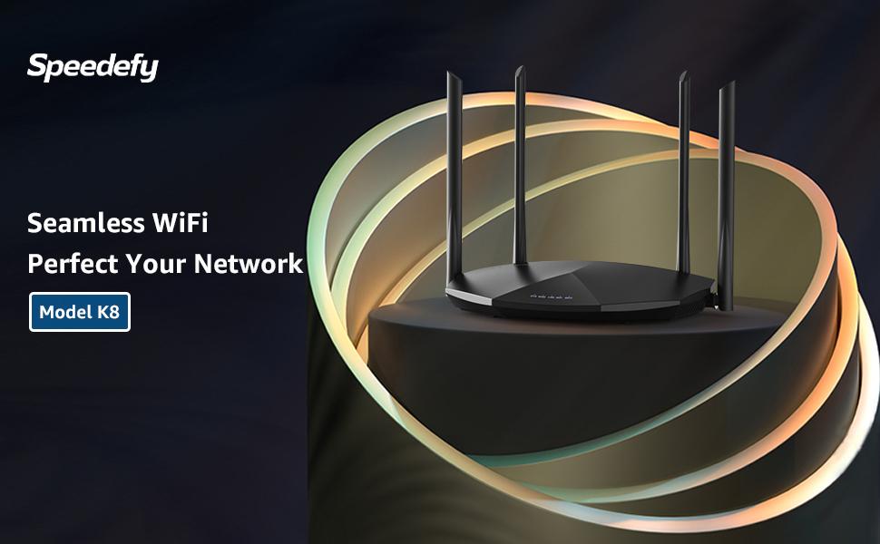 Speedefy K8 perfect your WiFi