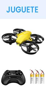 Potensic Mini Drone A20, Amarillo