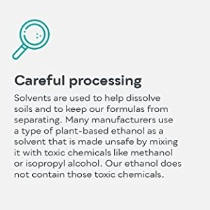 Safe and careful processing of our ingredients