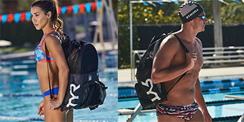 TYR, TYR sport, swim mesh bag, swimming bag, tyr mesh bag, swimming, triathlon swim, tyr swim bag