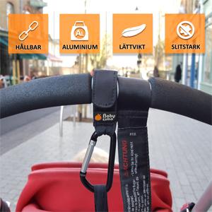 Barnvagn Krokar