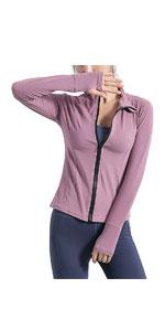 Full zip yoga jacket
