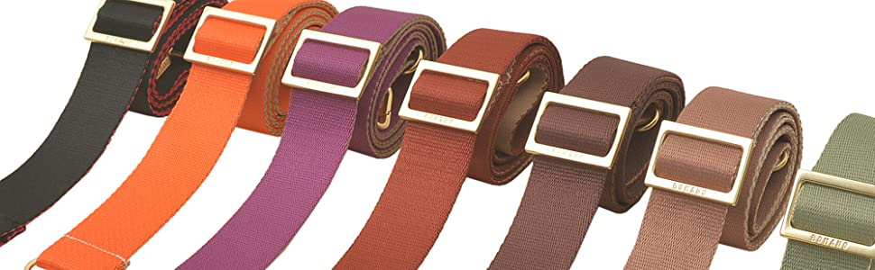 Bomano Bag Strap steps up your bag style, Daily color straps will carry your essentials.
