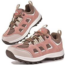 girls hiking shoes pink