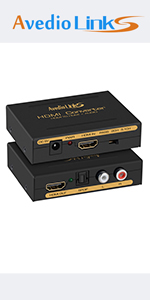 HDMI Audio Extractor(RCA+Optical)
