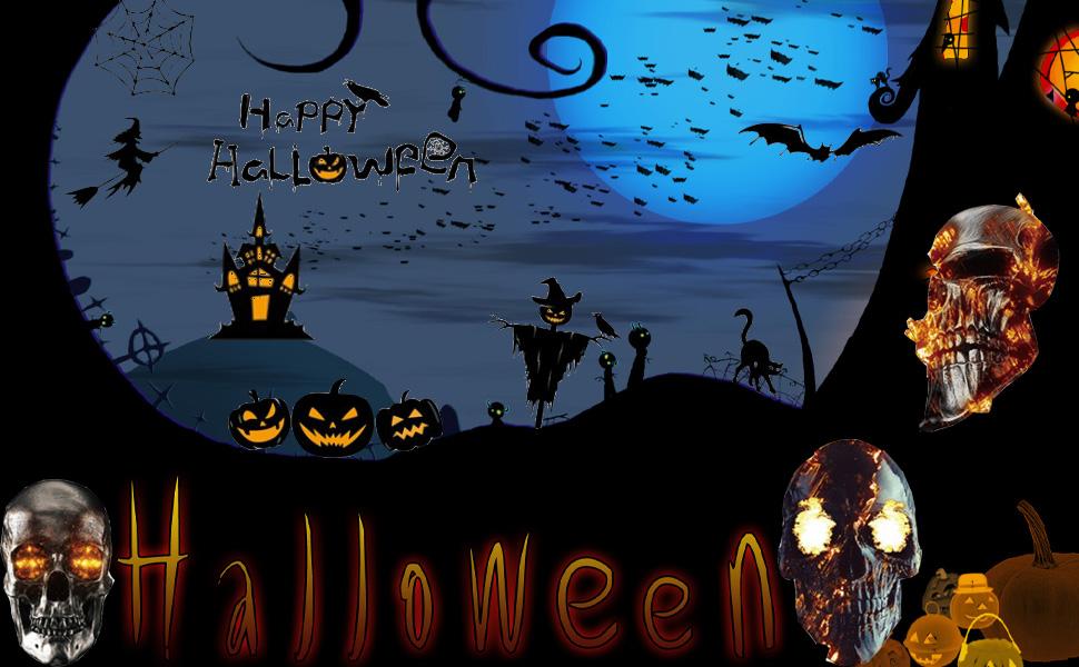Halloween Decals Window Clings for Halloween Decorations