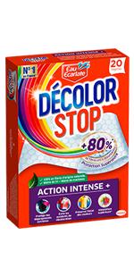 Décolor Stop Action Intense 20 lingettes