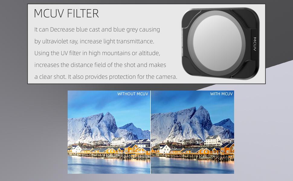 dji air 2s mcuv filters