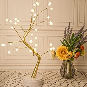 Adjustable Branches Battery Operated for Room Decoration and Gift