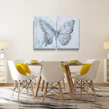 Butterfly Wall Art for Dinning Room