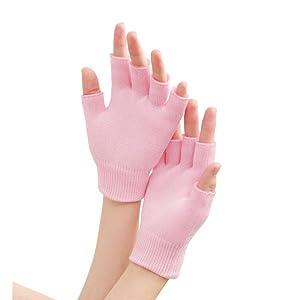 moisturizing half glove