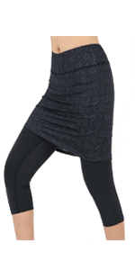 women skirted leggings women tennis clothes