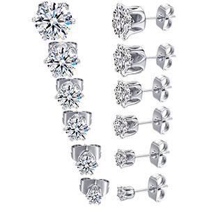stud earrings,earrings for women,cubic zirconia earrings