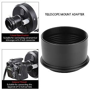 "2"" to T2 M42*0.75 Thread Telescope Eyepiece"