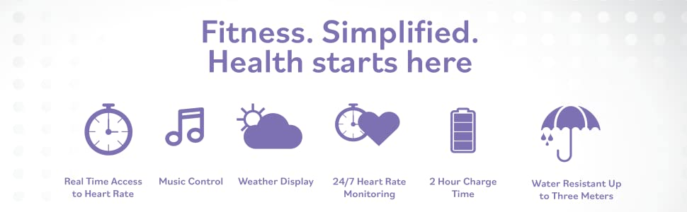 fitness simplified. Ndur smartwatch
