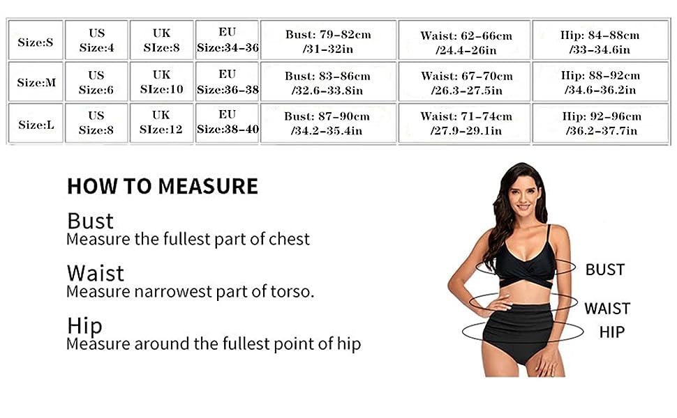 bikini damen high waist