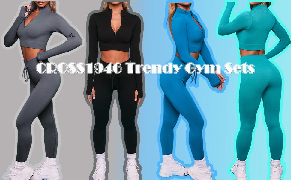 2021 All Purpose Trendy Seamless Gym Sets