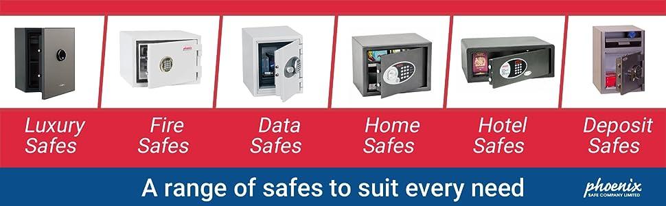 fire data home hotel deposit luxury safe
