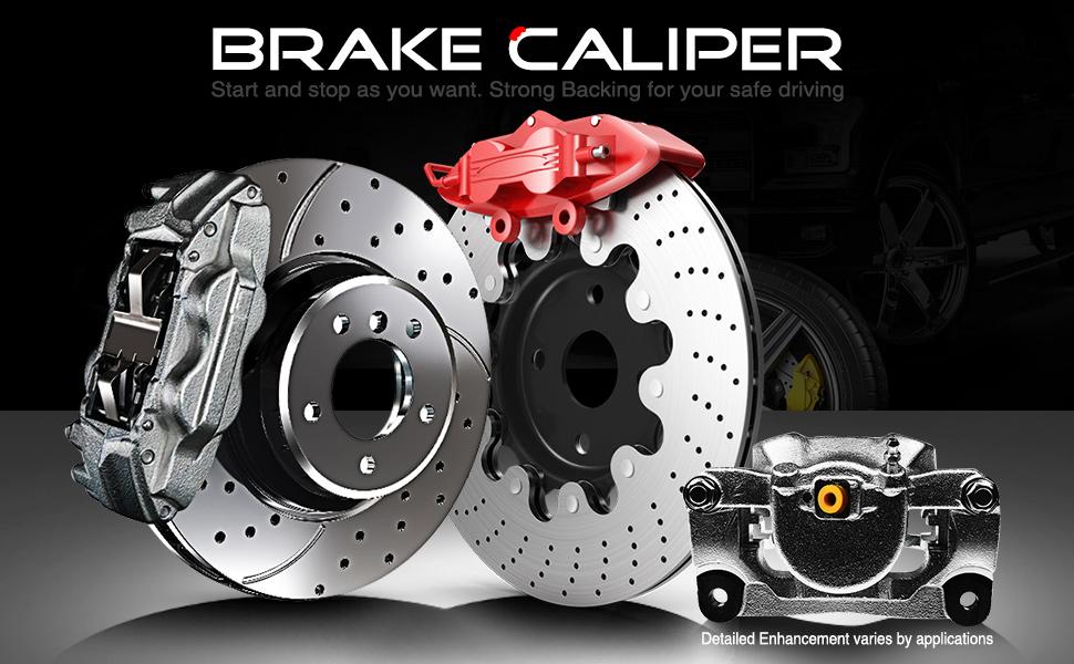 A-Premium Brake Caliper Assembly
